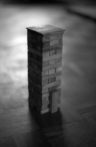 Mike Marshall Jenga Photograph 2015